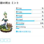 新緑の剣士 ミント:紹介